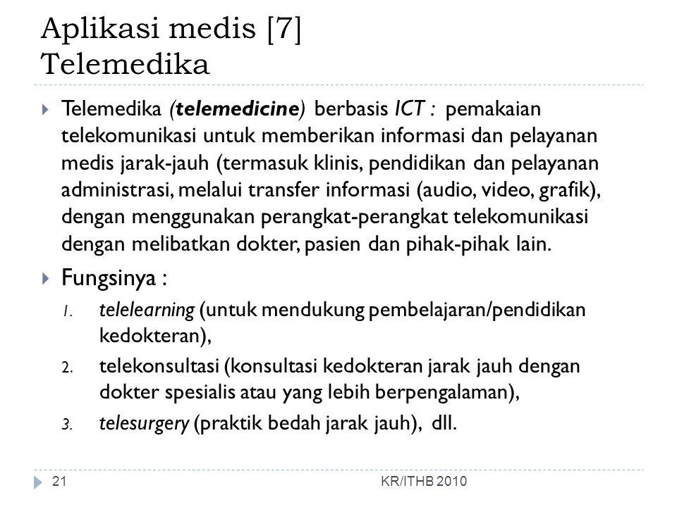 Aplikasi medis [7] Telemedika